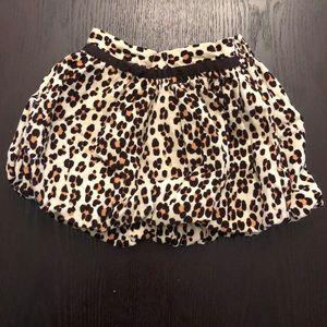 Baby GAP Leopard Print Bubble Skirt